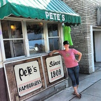 Photo taken at Pete's Hamburger Stand by Molly S. on 8/23/2013
