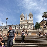 Photo taken at Piazza di Spagna by simei on 6/8/2013