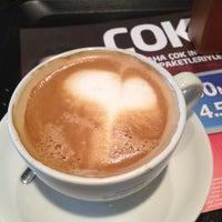 Photo taken at Caffé Nero by Özden H. on 2/4/2013