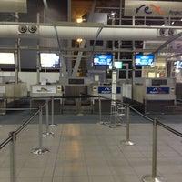 Photo taken at T2 Multi-User Domestic Terminal by Edgar K. on 5/13/2013