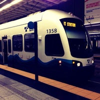 Photo taken at University Street LINK Station by Eric T. on 10/18/2012