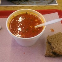 Photo taken at Anoush Deli & International Foods by Dylan Y. on 10/1/2012