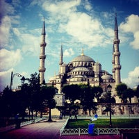 Photo taken at Blue Mosque by Gerard M. on 7/17/2013