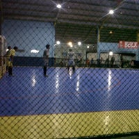 Photo taken at Meazza Futsal by Dharma M. on 11/10/2013