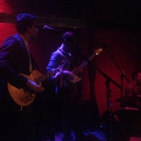 Photo taken at Rockwood Music Hall by Taylor M. on 11/25/2012