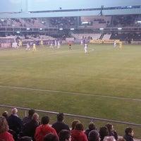 Photo taken at Estadio Municipal Castalia by Isaac G. on 1/11/2015