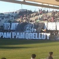 Photo taken at Estadio Municipal Castalia by Isaac G. on 1/25/2015