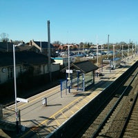 Photo taken at St Neots Railway Station (SNO) by Paul T. on 4/20/2013
