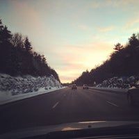 Photo taken at I-84 -- Willington by Kaity H. on 2/6/2014