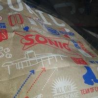 Photo taken at SONIC Drive In by Gina J. on 2/10/2014