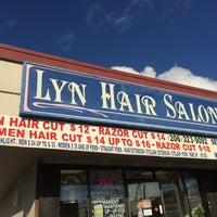 Photo taken at Lyn Hair Salon by C.Y. L. on 11/23/2014