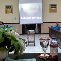 Photo taken at Polres Magelang by Eko T. on 12/20/2013