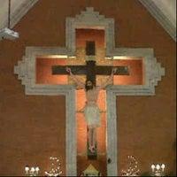 Photo taken at Gereja Katolik Redemptor Mundi by Irene H. on 4/14/2013