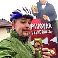 """Photo taken at Pivovar Velké Březno by Vit""""SQLap"""" J. on 5/4/2016"""