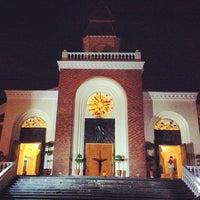 Photo taken at Santuario de San Vicente de Paul by Kaye on 3/28/2013