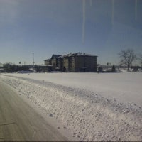 Photo taken at Country Inn & Suites Portage by Rob V. on 2/6/2014