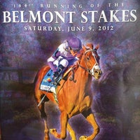 Photo taken at Belmont Park Racetrack by Eric W. on 6/10/2012