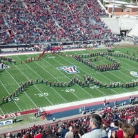 Photo taken at Arizona Stadium by Kim P. on 11/10/2012