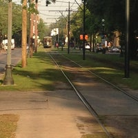 Photo taken at St. Charles Streetcar by Tiffany R. on 5/7/2013