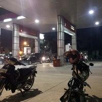 Photo taken at SPBU 34-15417 Vila Dago by j p. on 11/3/2012