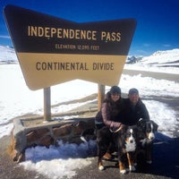 Photo taken at Independence Pass by Carl O. on 11/1/2015
