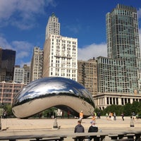 Photo taken at Cloud Gate by Reese L. on 9/16/2013