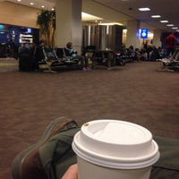 Photo taken at Gate A25 by Brian T. on 1/23/2014
