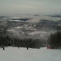 Photo taken at Mont-Sainte-Anne by Mark on 12/30/2012
