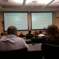 Photo taken at College of Business (BSN) by Nicholas S. on 11/30/2012