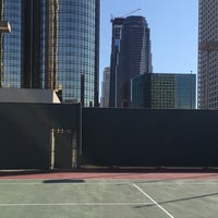 Photo taken at World Trade Center Rooftop Tennis courts by Arjan d. on 5/25/2016