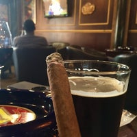 Photo taken at Churchill Cigar Lounge & Wine Bar by Rebecca H. on 10/23/2016