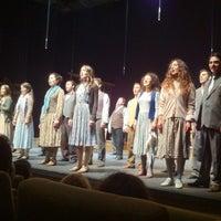 Photo taken at İstanbul Devlet Tiyatroları Cevahir Sahnesi by Burak G. on 4/18/2013