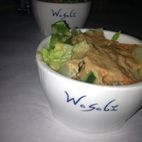 Photo taken at Wasabi Japanese Steakhouse by Brenna R. on 12/28/2012