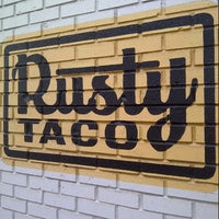 Photo taken at Rusty Taco by Alex E. on 1/26/2013