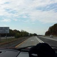Photo taken at I-84 -- Willington by Larry J. on 10/22/2013