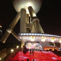 Photo taken at Oriental Pearl Tower by Dana R. on 7/20/2013