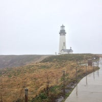 Photo taken at Yaquina Head Lighthouse by Shelley J. on 10/15/2012