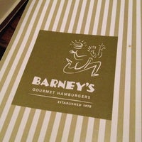 Photo taken at Barney's Gourmet Hamburgers by Michael F. on 1/28/2013
