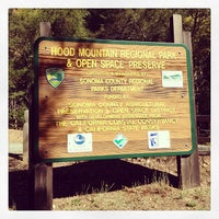 Photo taken at Hood Mountain Regional Park by Michael F. on 10/19/2013