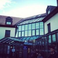 Das Foto wurde bei Sheraton Munich Airport Hotel von GypZ🌀™ S. am 10/30/2012 aufgenommen