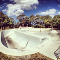 Photo taken at Five Dock Skate Park by Flavio S. on 2/17/2014