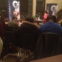 Photo taken at Christ Community Church of philadelphia by KENT L M. on 1/27/2013