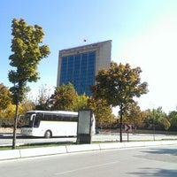 Photo taken at Merkez Orduevi by Yunus S. on 10/10/2014