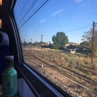 Photo taken at Gare SNCF de Lunel by Liya D. on 5/5/2016
