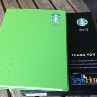 Photo taken at Starbucks Coffee by Bodetteski on 11/15/2012