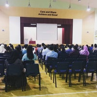 Photo taken at Bukit View Secondary School by Indra P. on 9/23/2015