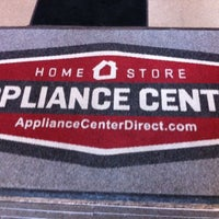 Photo taken at Appliance Center by Tom R. on 2/1/2014