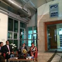 Photo taken at Biblioteca Juan Bosch FUNGLODE by El Clasico on 6/27/2014