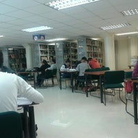 Photo taken at UTPL - Biblioteca by Déborah O. on 1/13/2014