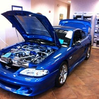 Photo taken at Bill Currie Ford (Show Room) by Alex on 4/19/2014